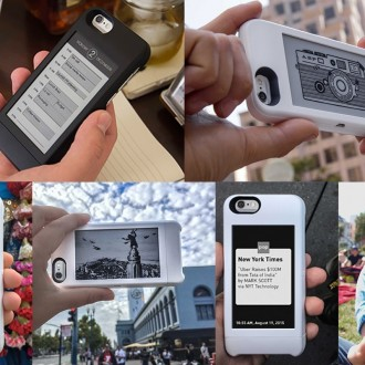 popSLATE eInk Screen for iPhone