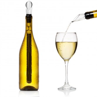 Wine Chiller and Aerator Stick
